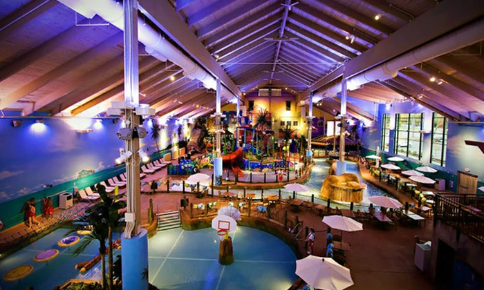 CoCo Key Water Resort - Waterbury, CT: Stay for Four with Optional Water-Park Passes and Dining Credit at CoCo Key Water Resort in Waterbury, CT