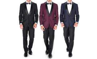 Braveman Shawl Collar Tuxedo w/Bow Tie