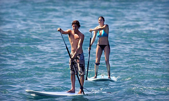 MN Surf Co. - Excelsior: All-Day Paddleboard Rental for One or Two from MN Surf Co. (63% Off)
