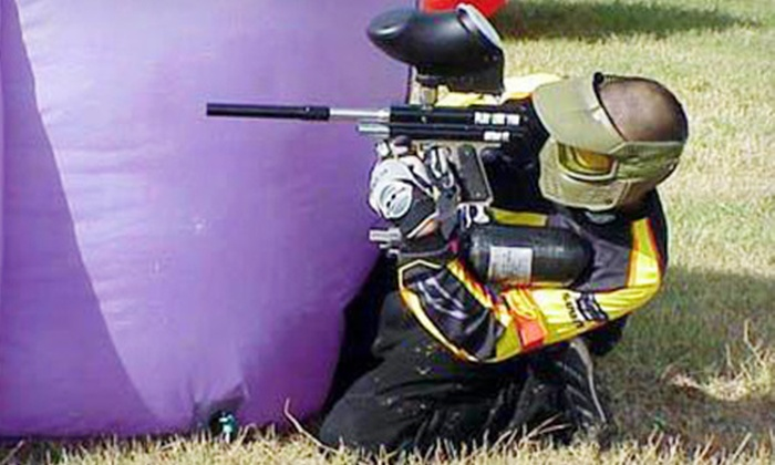 Urban Warfare - East Point: All-Day Paintball Package for One, Two, or Four at Urban Warfare (Up to 67% Off)