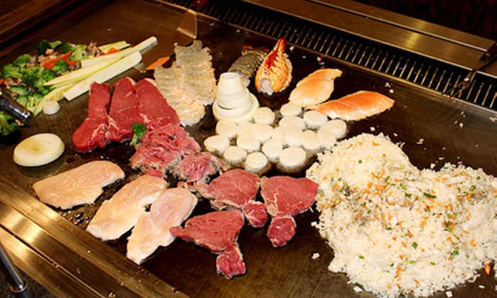 Wild Chef Japanese Steakhouse Grill & Bar - Walker: Sushi and Hibachi at Wild Chef Japanese Steakhouse Grill & Bar (Up to 46% Off). Five Options Available.