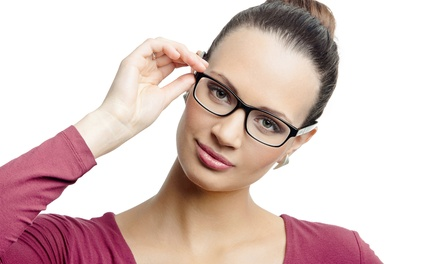 $62 for an Eye Exam and $150 Towards a Pair of Glasses ($280 Total Value)