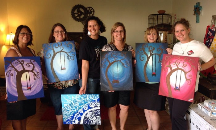 A Painting We Van Gogh - San Antonio: $12 for $25 Groupon — A Painting We Van Gogh