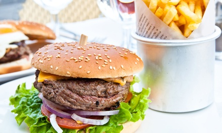 $9 for Two Burger Combo Meals at Colorado Grill ($16 Value)