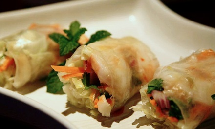 Thai Dinner or Lunch Cuisine at Full Moon Asian Thai Restaurant (Up to 53% Off)