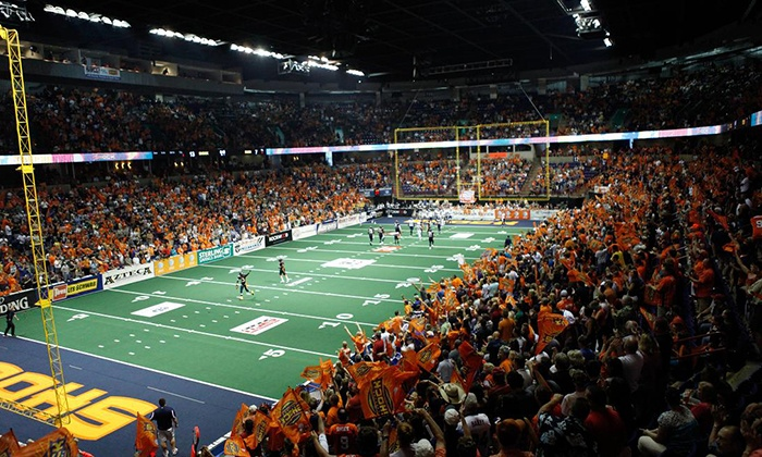 Spokane Shock - Spokane Arena: Spokane Shock Football Game for Two on July 21 at 5:30 p.m. - Spokane Arena (Up to 44% Off). Two Seating Options.