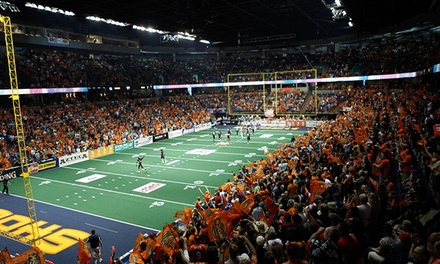 Spokane Shock Football Home Opener for Two at Spokane Arena on April 4 at 7 pm (Up to 52% Off). Two Seating Options.
