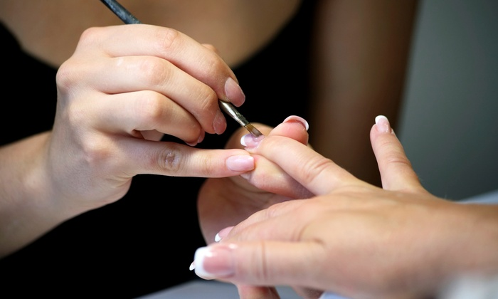 Girlfriends - Winnetka: One Manicure and Pedicure or Two No-Chip Manicures at Girlfriends (Up to 42% Off)