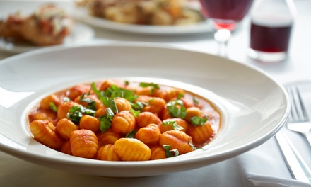Italian Food and Drinks at Roma Restaurant Bar and Market (Up to 40% Off)