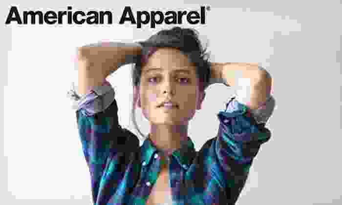 American Apparel - West Townline: $20 for $40 Worth of Clothing and Accessories Online or In-Store at American Apparel. Valid in Canada Only.