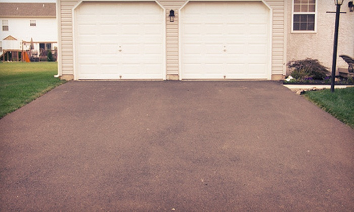 Bonelli Cement - Cleveland: Seal Coating for an Asphalt or Concrete Driveway from Bonelli Cement (Up to 51% Off). Three Options Available.
