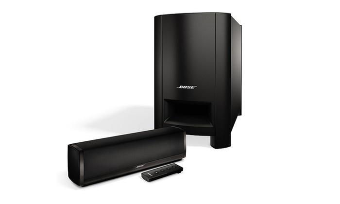 bose cinemate soundbar system groupon goods. Black Bedroom Furniture Sets. Home Design Ideas