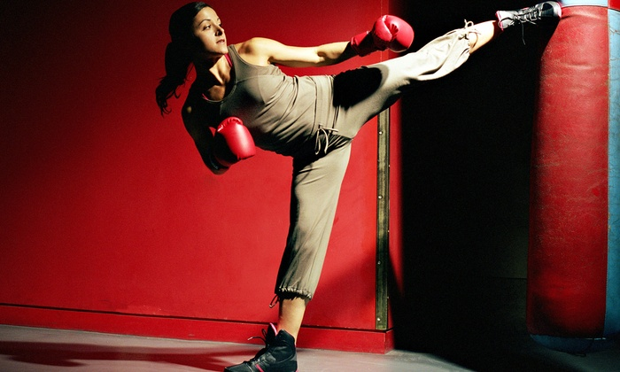 Nubreed Martial Arts Academy - Whitestone: One Month of Unlimited Women's Kickboxing Classes for One or Two at Nubreed Martial Arts Academy (Up to 65% Off)