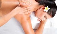 1 oder 2 Lomi-Lomi-Nui-Massagen für Körper-Rückseite und Gesicht plus Fußbad bei Mowellmas (bis zu 62% sparen*)