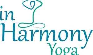 In Harmony Yoga: $49 for One Month of Yoga at In Harmony Yoga
