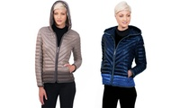 Kensie Womens Packable Jacket