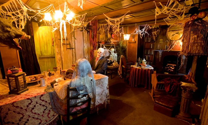 Potters Farm & Nursery (House of Horrors) - Potters House of Horrors: Haunted House Admission for Two on October 13, 14, or 15 at Potters House of Horrors (42% Off)