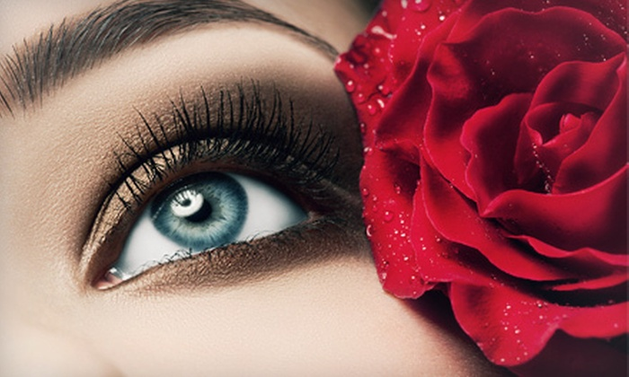 About Mei - Carmel: Full Set of Eyelash Extensions with Optional Touchup at About Mei (Up to 79% Off)