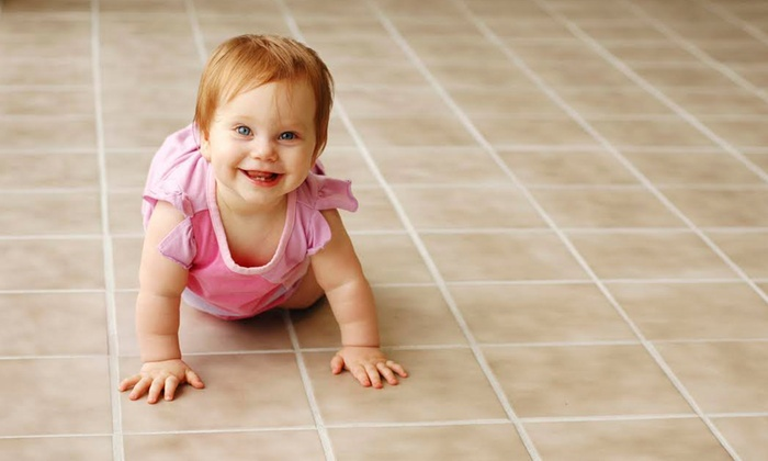 Sweet's Chem-Dry - Portland: $76 for Tile and Grout Cleaning for Up to 100 Square Feet from Sweet's Chem-Dry ($150 Value)