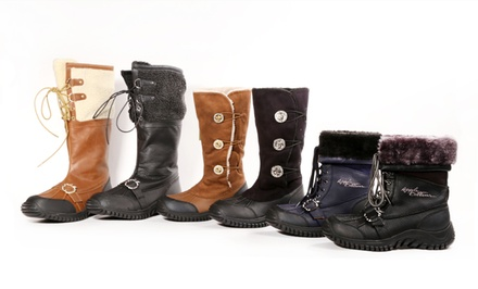groupon daily deal - Apple Bottom Snow Boots. Multiple Styles Available.