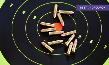Shooting-Range Package for Two or Four with Gun Rentals atThe Shooters' Club (Up to41%Off)