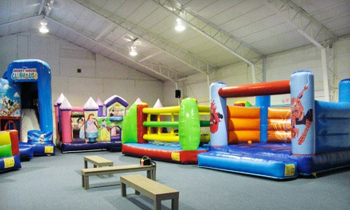 Bounce! Fun Center - Clinton: $15 for Three Groupons, Each Good for One Open-Bounce Admission at Bounce! Fun Center ($30 Value)