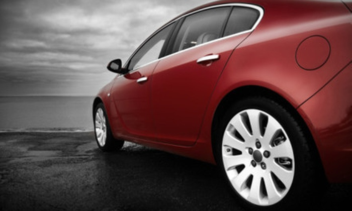 Auto Asylum Car Care Center - Homewood North: $69.99 for an Auto-Detail Package with Hand Wax and Rain-X Treatment at Auto Asylum Car Care Center ($140 Value)