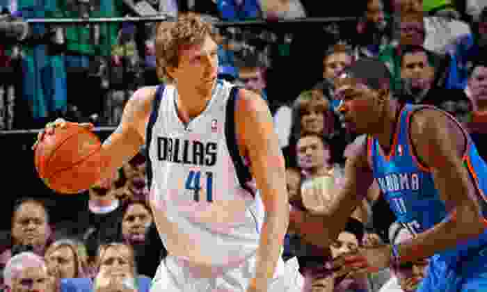Dallas Mavericks - Victory Park: Dallas Mavericks NBA Game on April 10 or 17 at American Airlines Center (Up to 48% Off). Five Seating Options Available.