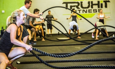 One- or Three-Month Unlimited Gym Membership to TruHit Fitness (Up to 71% Off)