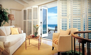 $79 For $300 Worth Of Custom Hunter Douglas Shutters And Window Treatments From The Blind Guys