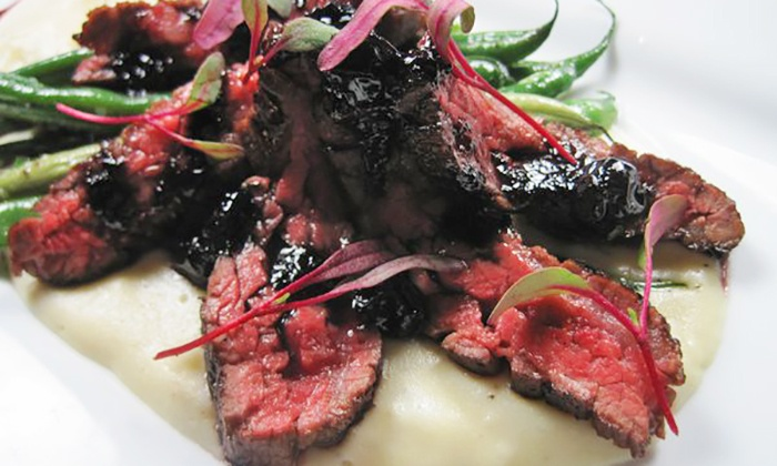 The Boom Boom Room - Downtown St. Louis: French-Inspired Cuisine at The Boom Boom Room (Up to 50% Off). Two Options Available.