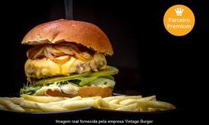 Vintage Burger: Vintage Burger – Vila Mariana: hambúrguer Harley-Davidson com fritas e sobremesa para 1, 2 ou 4 pessoas