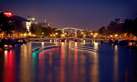 Rondvaart van 1,5 uur tijdens Amsterdam Light Festival bij Amsterdam Boat Experience