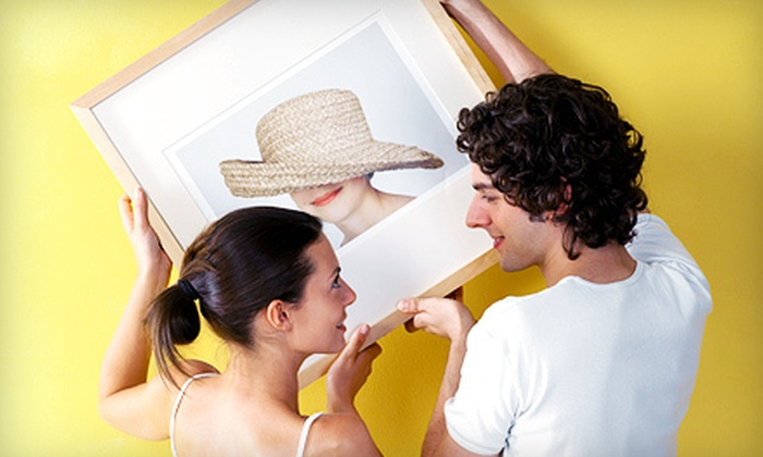 Decor Art Gallery - East Village,Midtown,Gramercy-Flatiron: $39 for $100 Worth of Framing at Decor Art Gallery