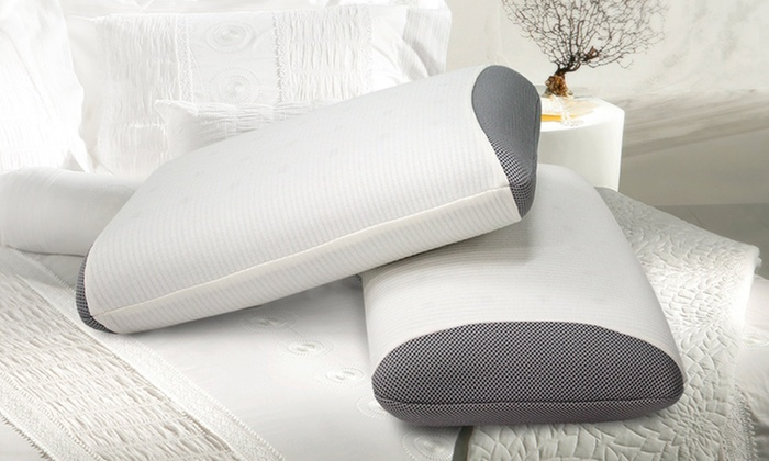 Set of 2 SensorPedic Gel Support Pillows: $49.99 for a Set of 2 SensorPedic Gel-Infused Memory Foam Pillows ($99.99 List Price). Free Shipping.