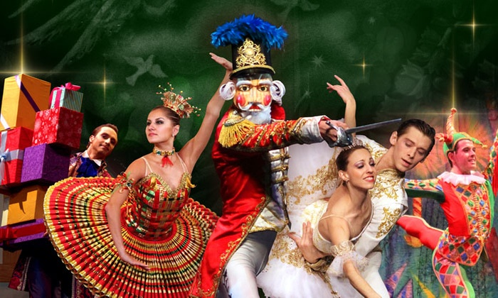 """Moscow Ballet's - North Charleston Performing Arts Center: Moscow Ballet's """"Great Russian Nutcracker"""" with Optional Nutcracker and DVD on December 24 (Up to 51% Off)"""