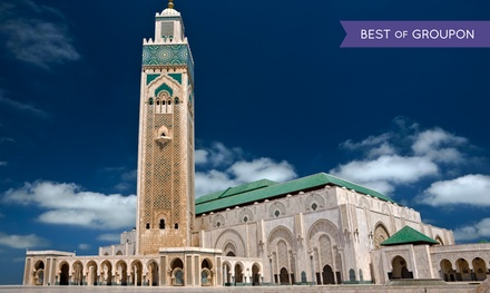 Groupon Deal: ✈13-Day Tour of Morocco with Round-Trip Airfare from Gate 1 Travel.Price/Person Based on Double Occupancy.