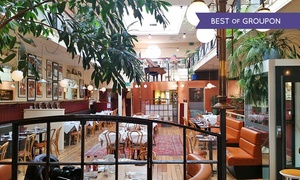 Arlingtons Brasserie: Two-Course Meal for Two with Wine at Arlingtons Brasserie (Up to 47% Off)
