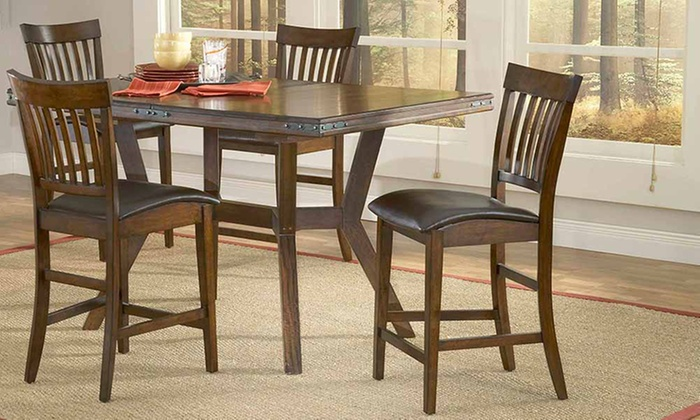 Carlyle dining table sets groupon goods for Dining table set deals