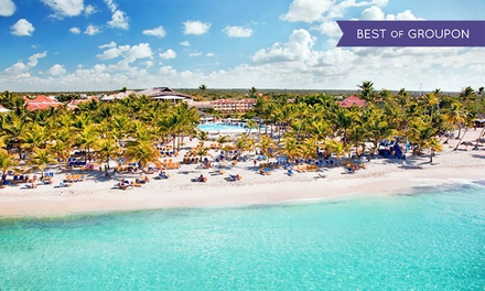 ✈ All-Inclusive Viva Wyndham Dominicus Beach Stay w/Air. Price per Person Based on Double Occupancy. Incl. Taxes & Fees.