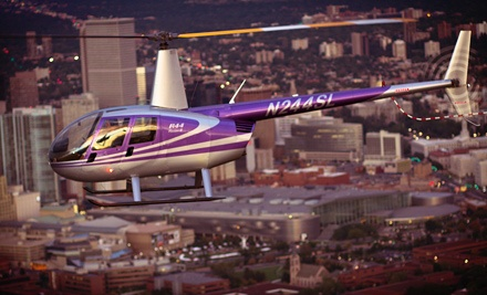 Helicopter Tour or Lesson with Hands-On Instruction for One or Two from TYJ Global Helicopters (Up to 54% Off)