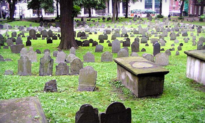 Haunted Boston Ghost Tours - Downtown: 90-Minute Haunted Walking Tour for Two or Four from Haunted Boston Ghost Tours (Up to 58% Off)