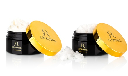 24K Gold-Infused Body Scrub and Body Butter