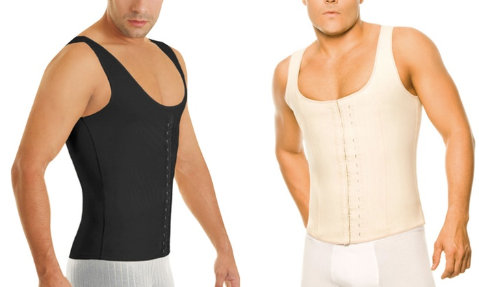 Men's Waistcoat High-Compression Body Shaper