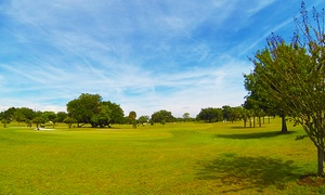 Mayfair Country Club: 18-Hole Golf Outing with Cart, Range Balls, and Beer for Two or Four at Mayfair Country Club (Up to 42% Off)