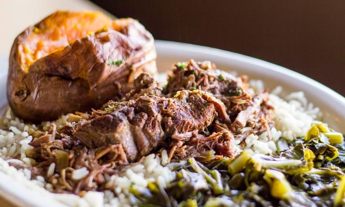 Bucky Moonshine - Deep Ellum: $12 for $20 Worth of Southern and  Cajun Creole Food at Bucky Moonshine