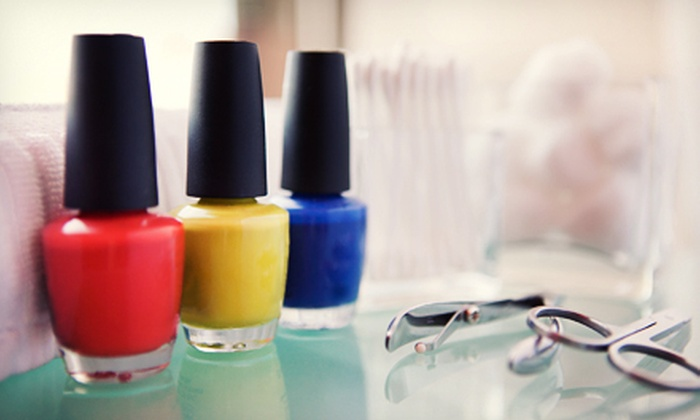 Glo Spa - Stonegate - Queensway: One or Three Mani-Pedis at Glo Spa in Etobicoke (Up to 58% Off)