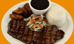 La Parrilla Rotisserie & Grill: Latin Cuisine for Two or Four at La Parrilla Rotisserie & Grill (Up to 43%)