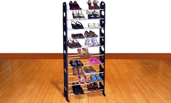 30-Pair Shoe Rack: 30-Pair Shoe Rack. Free Shipping and Returns.