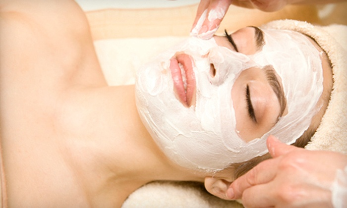 Jennifer Day Spa - Multiple Locations: Spa Package with Organic Facial and 60-Minute Aromatherapy Massage for One or Two at Jennifer Day Spa (Up to 75% Off)